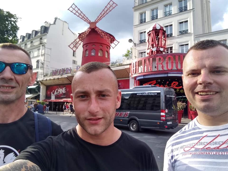 Zespół MDK z wizytą w Paryżu.