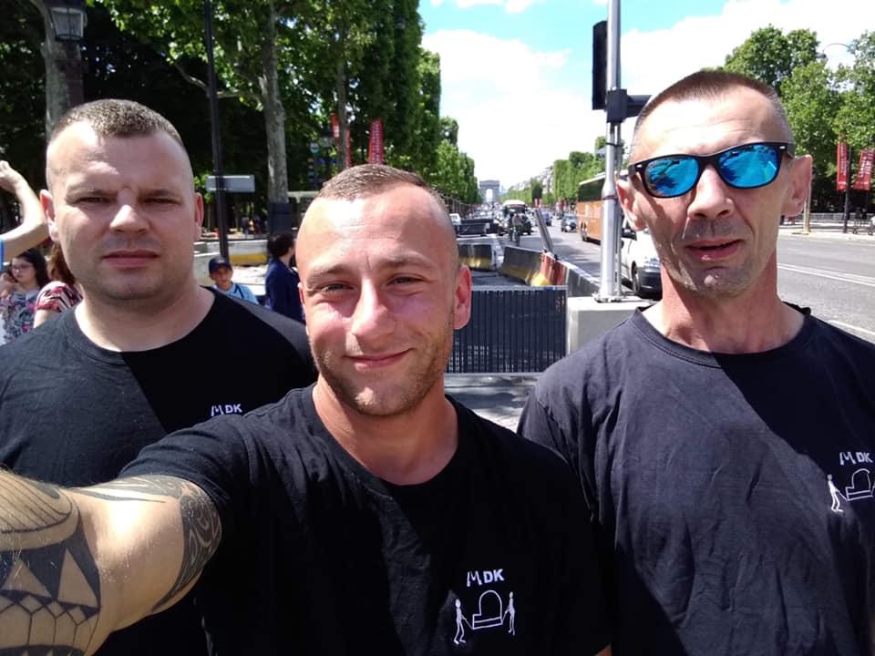 Załoga MDK z wizyta w Paryżu
